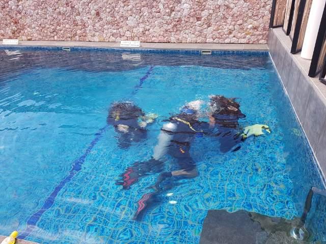 발리다이빙 PADI 오픈워터 교육 :)